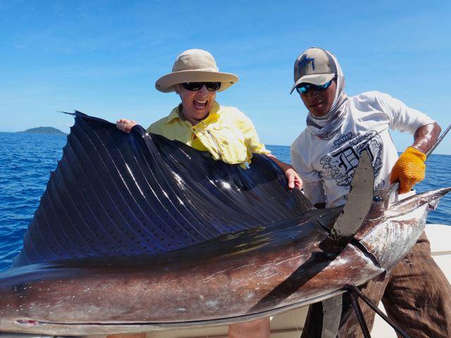 Isla Montuosa Billfish Action